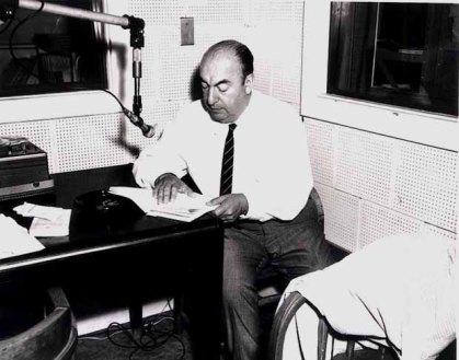 Pablo Neruda in 1966.