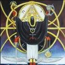 Hierophant with occultic regalia. (Source unknown.)